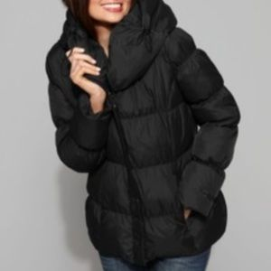 BETSEY JOHNSON QUILTED DOWN PUFFER JACKET